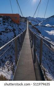 Stubnerkogel Suspension Bridge, Bad Gastein, Austria, Europe