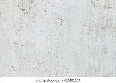 The stucco white wall background or texture