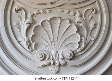 Stucco work of the baroque