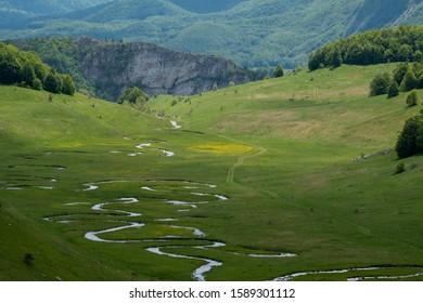 Studeni Potok in spring time, Bosnia and Herzegovina - Shutterstock ID 1589301112