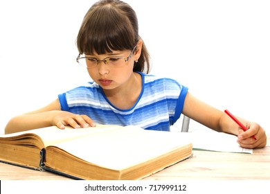 student with books on white background. September 1. The day of knowledge.