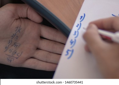 Cheating Student Images, Stock Photos & Vectors | Shutterstock