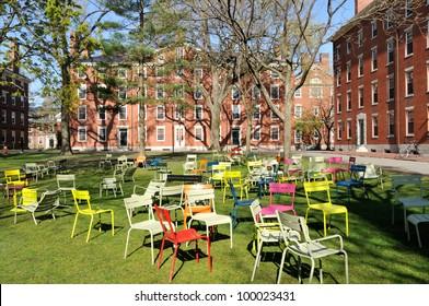 Student dorms in Harvard Yard