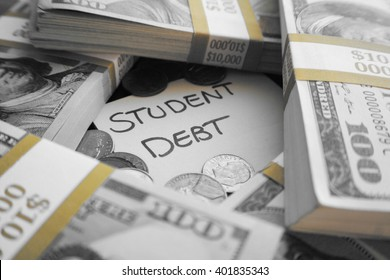 Student Loan Debt Stock Photo