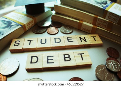 Student Loan Debt Stock Photo High Quality