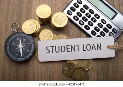 Student Loan, financial concept