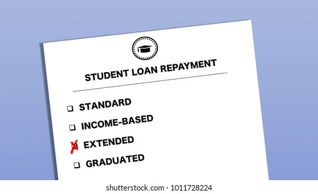 Student Loan Repayment Options Form   Extended Repayment Plan