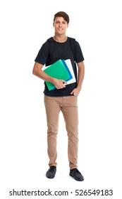Student man.