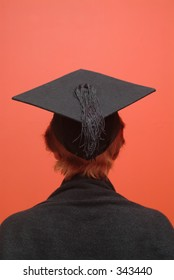 Student with mortar board 1