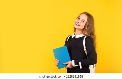 Student ready for lessons. Classes for teens. Talent development. Successful future. International students exchange. School knowledge. Regular school program. School education for advanced level.
