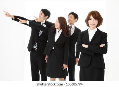 Students, job hunting image
