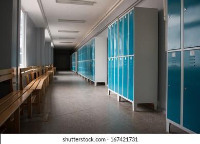 Students Locker Room