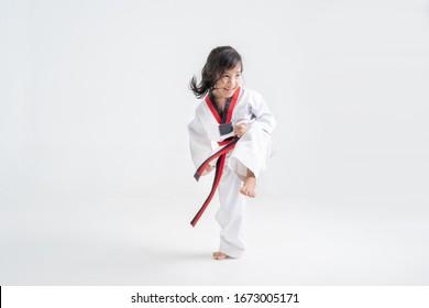 The studio asian kids  karate martial arts