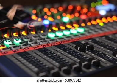 studio audio mixer