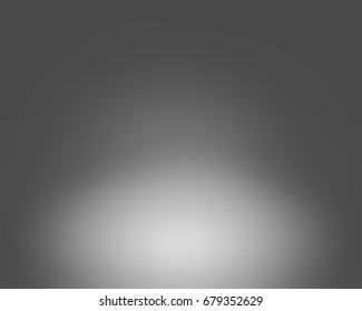 Studio background cyclorama with 1 top light