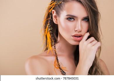 studio beauty shot