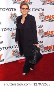 "STUDIO CITY, CA - AUGUST 13: Carrie Fisher at ""Comedy Central's Roast of William Shatner"" August 13, 2006 in CBS Studio Center, Studio City, CA."
