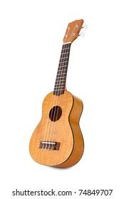 Studio isolated shot of a nice Hawaiian ukulele