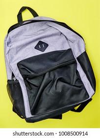 A studio photo of a backpack