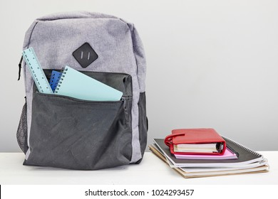 A studio photo of a backpack