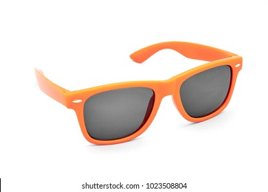 A studio photo of beach sunglasses