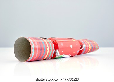 A studio photo of christmas crackers