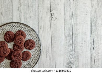A studio photo of cookies