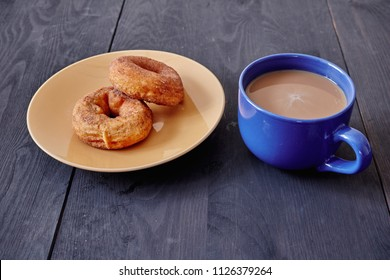 A studio photo of a cup of cofffee
