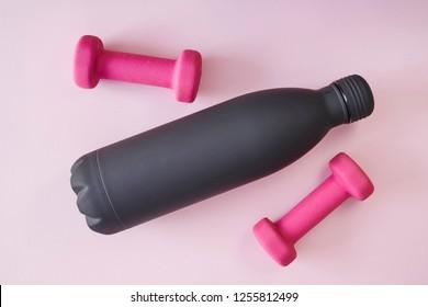 A studio photo of fitness equipment