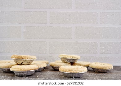 A studio photo of fruit mince pies