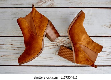 A studio photo of ladies dress shoes