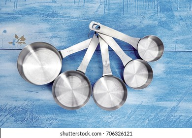 A studio photo of measuring cups