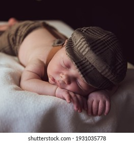 studio photo of newborn of the most tender