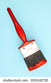 A studio photo of a paint brush