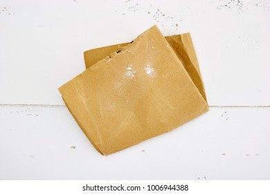 A studio photo of a piece of sand paper