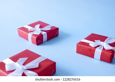 A studio photo of a present