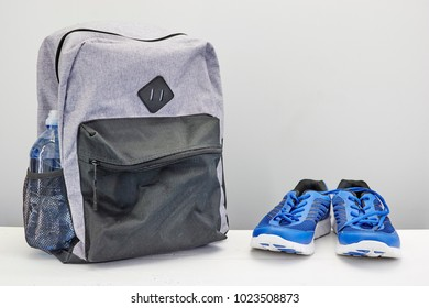 A studio photo of a sports bag