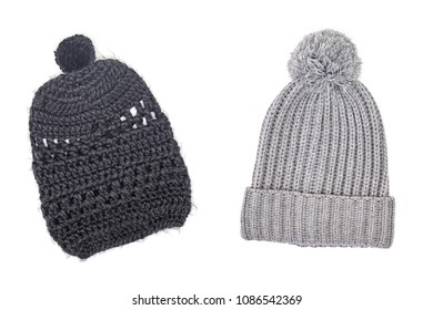 A studio photo of a woolen beanie