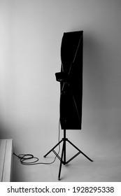 Studio photographic equipment lighting strip