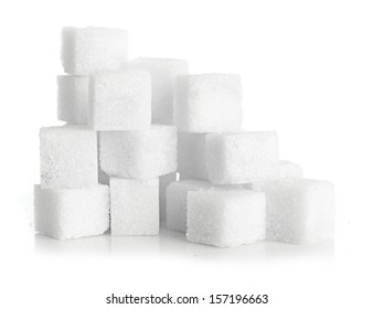 Studio photography of a lump sugar