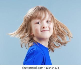 Long Hair Boy Images Stock Photos Vectors Shutterstock