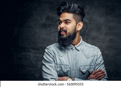 Indian Men Hairstyle Images Stock Photos Vectors Shutterstock