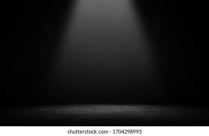 Studio room gradient background. Abstract black white gradient background. - Shutterstock ID 1704298993