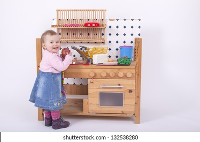 Kids Playing In The Kitchen Images, Stock Photos & Vectors ...