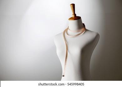 studio shot of female mannequin