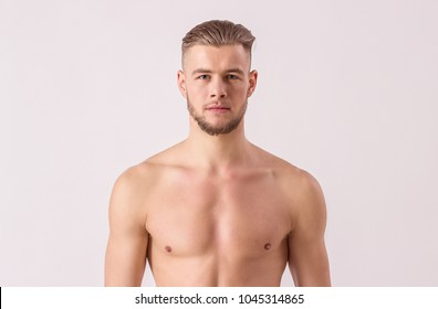 Man Haircut White Background Images Stock Photos Vectors