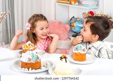 Easter Cake Children Images Stock Photos Vectors Shutterstock