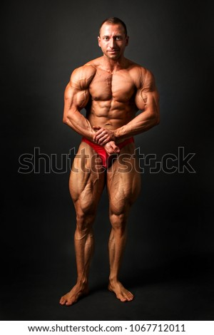 young male bodybuilders