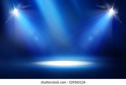 Studio Spotlight Background
