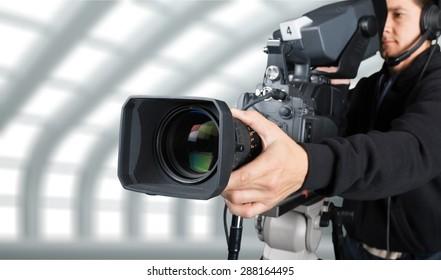 Studio, video, broadcasting.